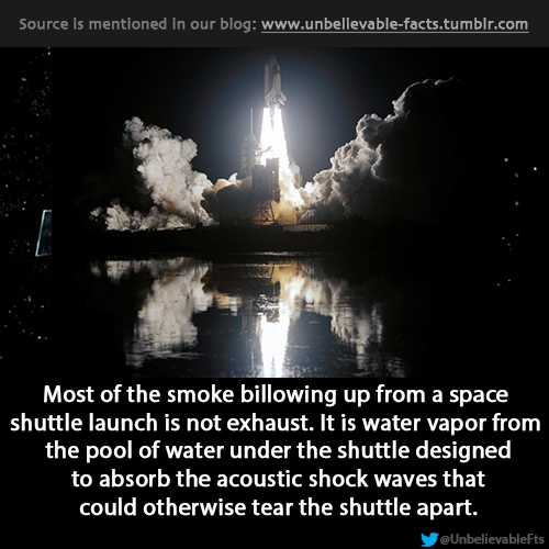 THINGS THAT MAKE YOU GO HMMM- THE SHUTTLE