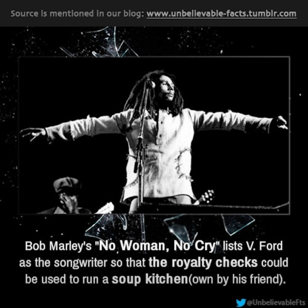 BOB MARLEY FACT